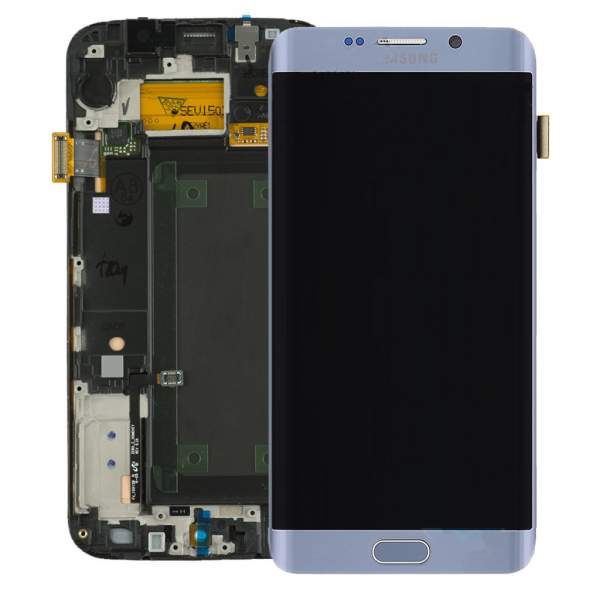 Ecran Display cu touchscreen Samsung Galaxy S6 Edge Plus G928f Silver 0