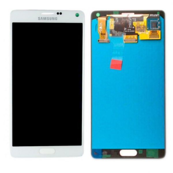 Display cu touchscreen Samsung Galaxy Note 4 N910f Alb 0