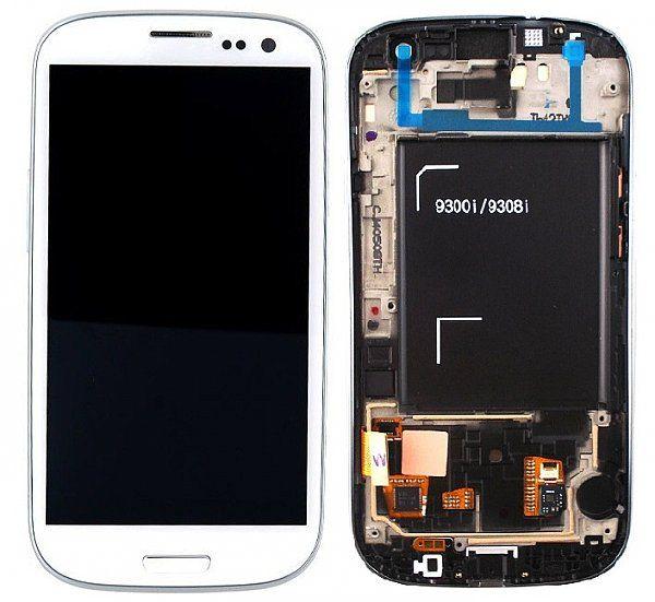 Display cu touchscreen Samsung i9301 Galaxy S3 Neo Alb 0