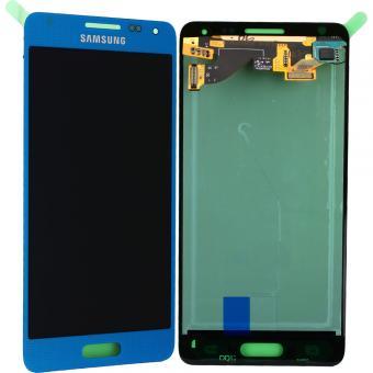 Display cu touchscreen Samsung G850 Galaxy Alpha Blue [0]