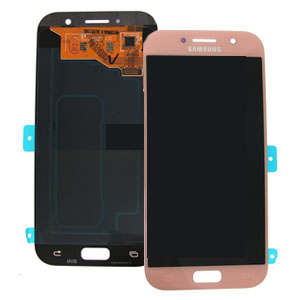Ecran Display cu touchscreen Samsung Galaxy A5 2017 A520f Pink, Pouch, Roz 0