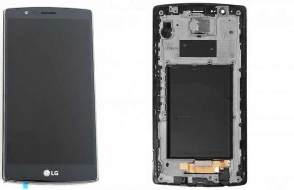 Display cu rama LG G4 H815 swap original Negru 0