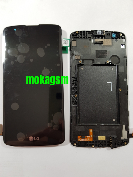 Display cu rama LG K8 k350n Original (Original Service Pack) 0