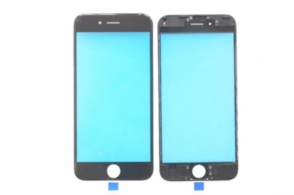Sticla Geam cu rama si Oca pentru Iphone 6s Negru 0
