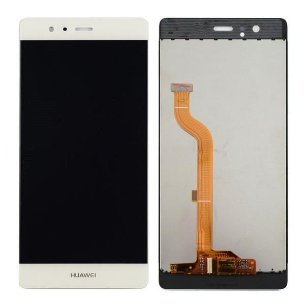 Display cu touchscreen Huawei P9 Alb [0]