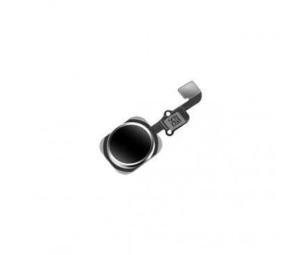 Buton meniu cu senzor amprenta si banda Apple iPhone 6s negru 0
