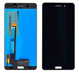 Ecran Display Nokia 6 Negru Original TA-1021, TA-1033 0