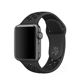 Curea bratara Sport Black pentru Apple Watch 42mm 0