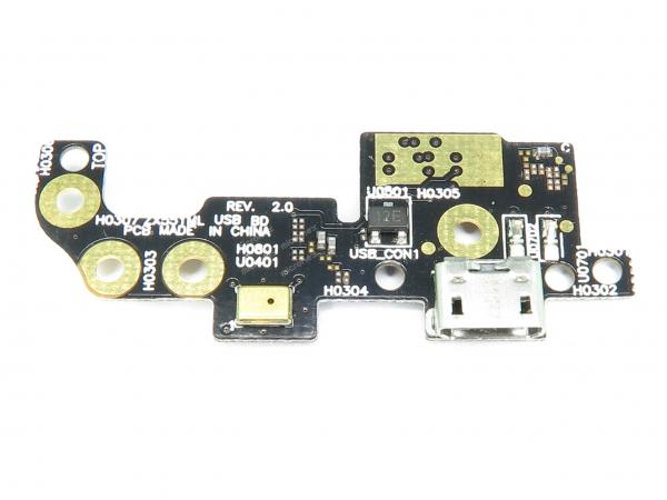 Placa incarcare conector microfon Asus ZX551ML 0