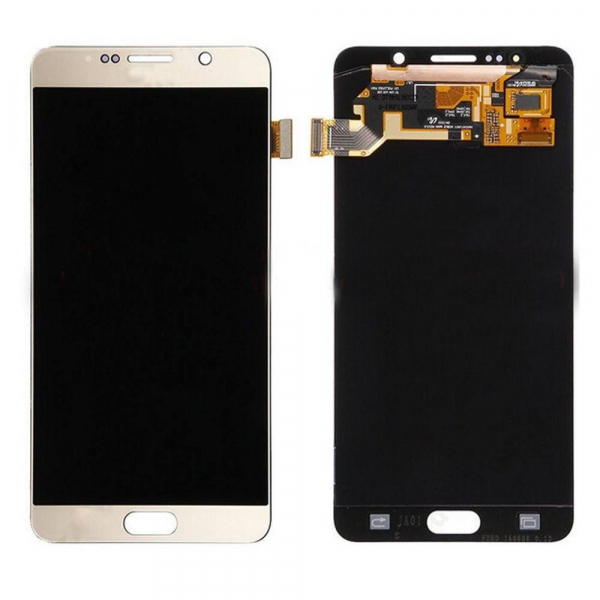 Ecran Display cu touchscreen Samsung Galaxy Note 5 Gold 0