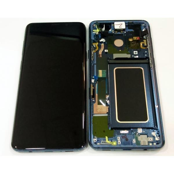 Ecran Display Samsung Galaxy S9 G960f Blue Albastru Swap [0]
