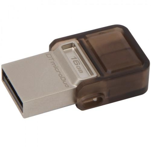 Stick usb Flash Drive DataTraveler microDuo 16GB, USB 2.0 & microUSB – USB OTG, 0