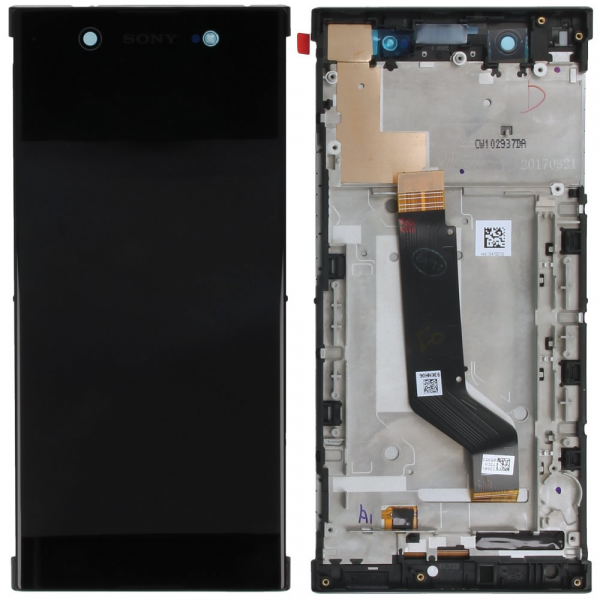 Ecran Display SONY Xperia XA1 Ultra G3221Negru Original Service Pack 0