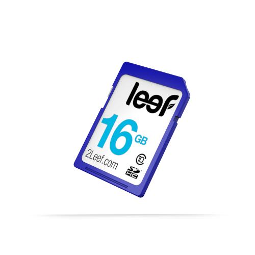 Card de memorie Leef 16 GB SD™ HC Clasa 10, PrimeGrade, LFSDC-01610A
