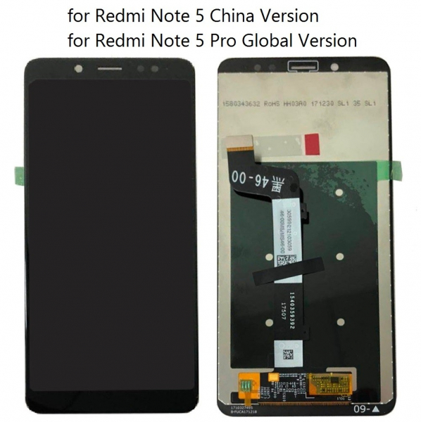 Ecran Display Xiaomi Redmi Note 5 Pro Negru 0