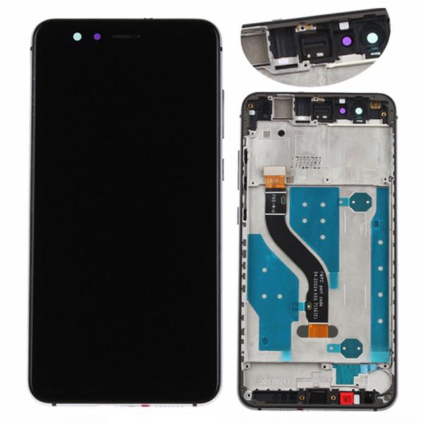 Ecran Display Huawei P10 Lite Cu Rama Negru [0]