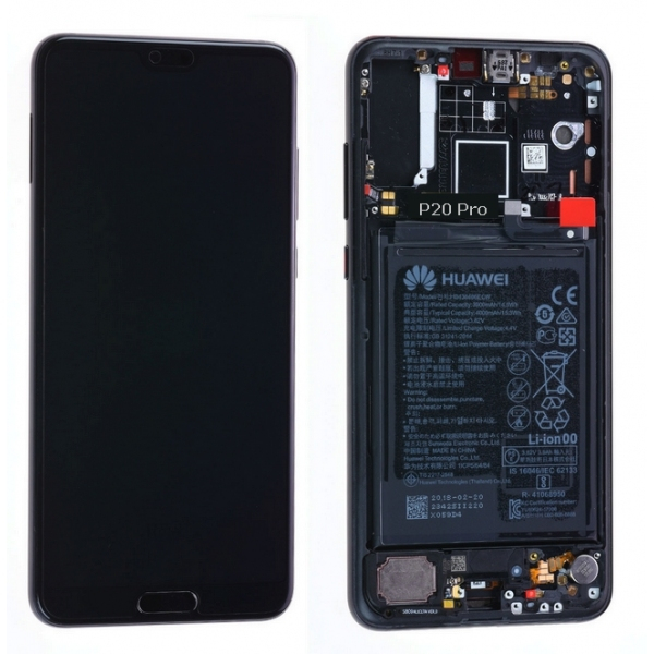 Ecran Display Huawei P20 Pro Service Pack + Acumulator  Negru 0