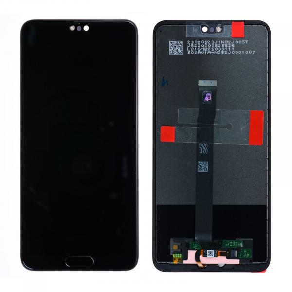 Ecran Display Huawei P20  cu amprenta SERVICE PACK Negru Blue Pink 0
