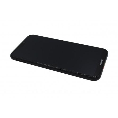 Ecran Display Huawei P20 Lite Service Pack + Acumulator + difuzor Original Negru 2