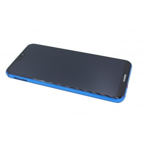 Ecran Display Huawei P20 Lite Service Pack + Acumulator + difuzor Original Blue 0
