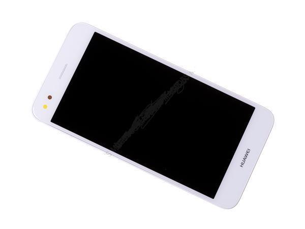 Ecran Display Huawei Y6 PRO 2017, P9 Lite Mini Service Pack + Acumulator Alb [0]