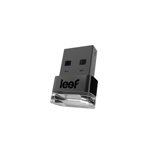 Stick USB Leef Supra Charcoal 64 GB USB 3.0, LS300CX064E4 Negru