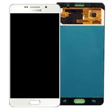 Ecran Display Samsung A7 2016 A710 Alb 0
