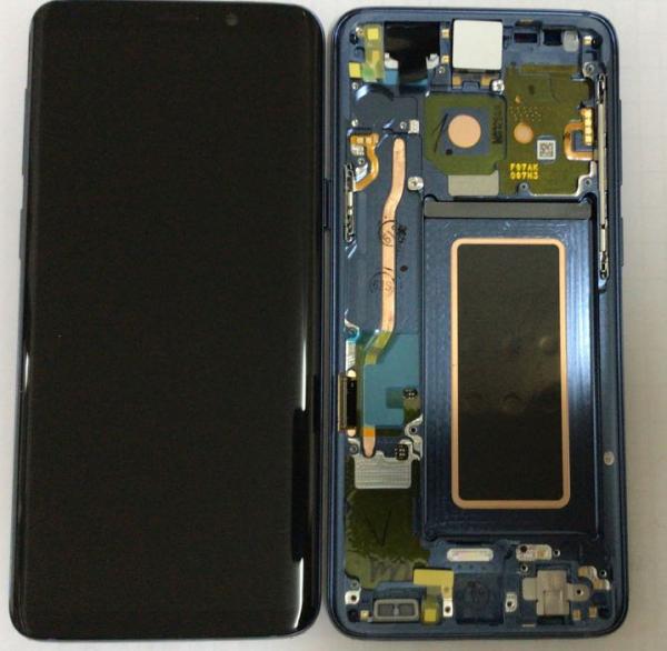 Ecran Display Samsung Galaxy S9 G960f Grey Gri Nou 0