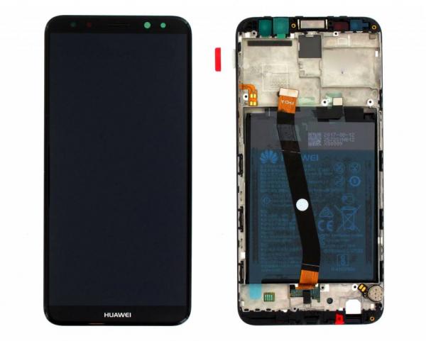 Ecran Display Huawei Mate 10 Lite cu rama baterie Service Pack Negru 0
