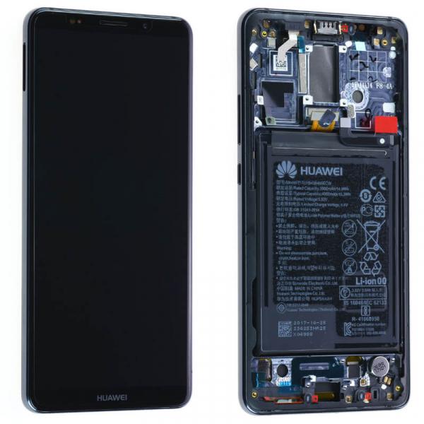 Ecran Display Huawei Mate 10 Pro cu rama si acumulator Negru Gray Original 0
