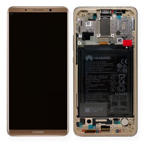 Ecran Display Huawei Mate 10 Pro cu rama si acumulator Brown Original [0]