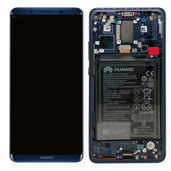Ecran Display Huawei Mate 10 Pro cu rama si acumulator Blue Original [0]