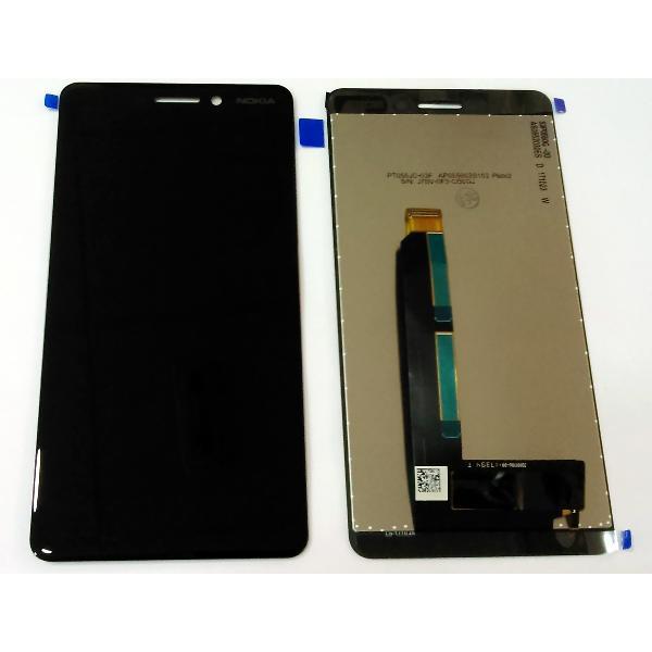 Ecran Display Nokia 6 2018 Negru TA-1021, TA-1033 0