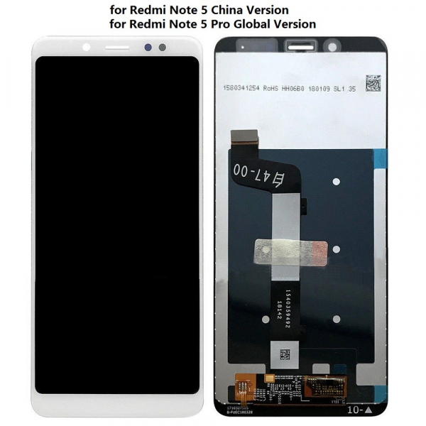 Display cu touchscreen XIAOMI Note 5 alb Original 0