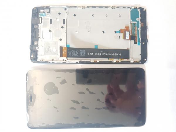 Ecran display Xiaomi Redmi Note 4 Versiune ASIA Cu rama Fata Negru [0]