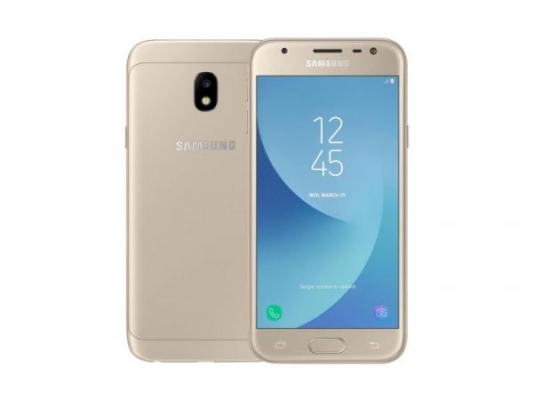 Telefon Mobil Samsung Galaxy J3 2017, J330F, Dual Sim, Gold 0