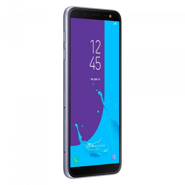 Telefon mobil Samsung Galaxy J6, 2018 Dual SIM, 32GB, 4G, ORCHID GRAY [0]