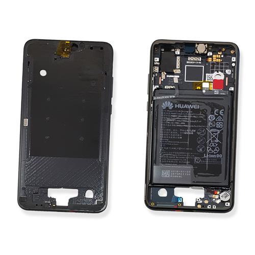 Carcasa mijloc rama cu acumulator Huawei P20 Negru Original 0