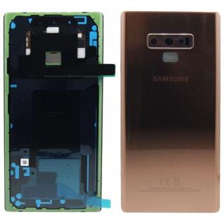 Capac baterie Samsung Galaxy Note 9 N960f Copper Gold Original Service Pack 0