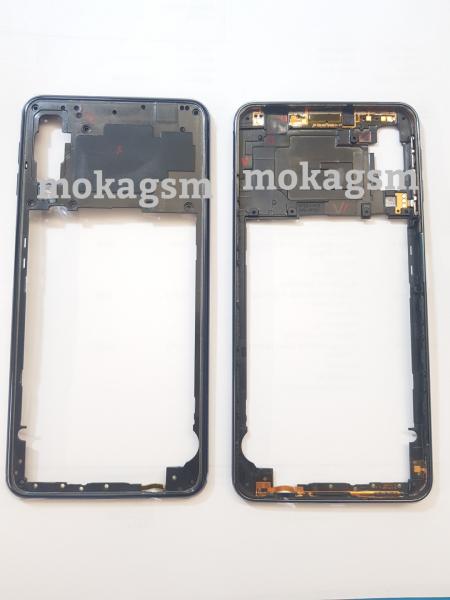 Carcasa mijloc rama Samsung Galaxy A7 2018 A750 Original Negru [0]