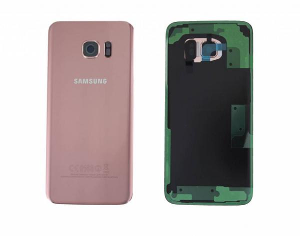 Capac baterie Samsung Galaxy S8 Plus G955f Pink Roz Original 0