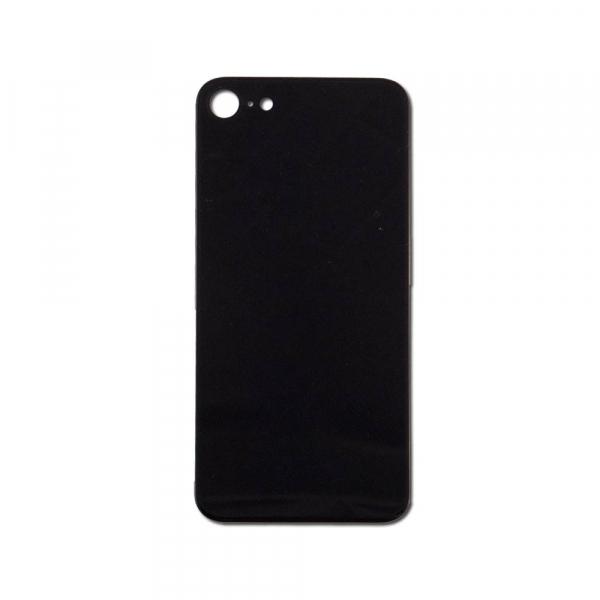 Capac spate sticla spate iPhone 8 negru [0]