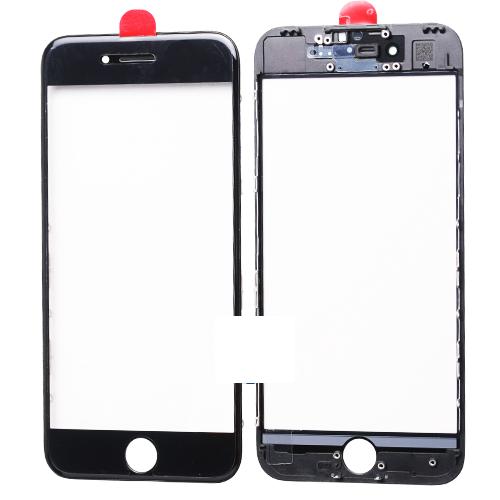 Geam cu rama si Oca pentru Iphone 8 Plus Negru 0