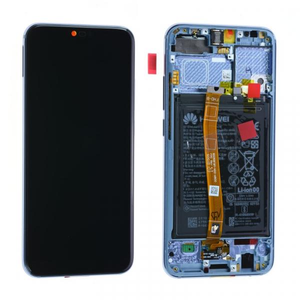 Ecran Display HONOR 10, Grey, Original Service Pack cu Baterie, COL-L29 [0]
