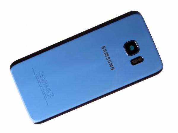 Capac baterie Samsung galaxy s7 edge g935 Blue Coral Swap Original 0