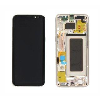 Ecran Display Samsung Galaxy S9 G960f Sunrise Gold Nou [0]
