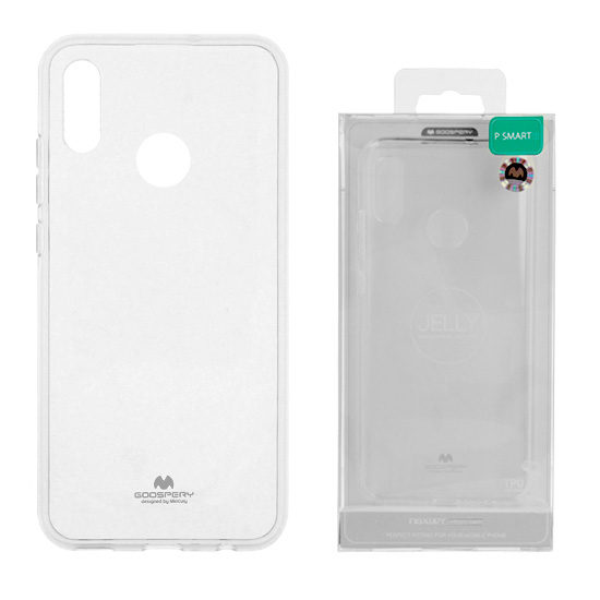 Husa TPU Transparent Mercury Jelly pentru Huawei P30 Pro 1