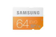 Card SD Samsung 64 GB Evo, Clasa 10, UHS-1, transfer speed 48MB/s,  ()