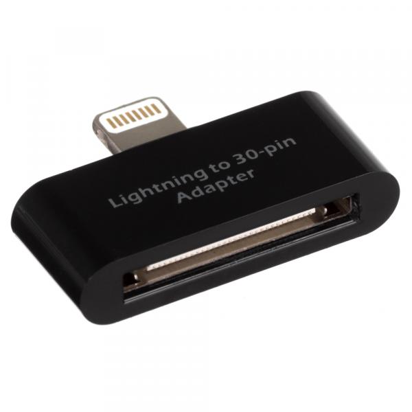 Adaptor incarcare si date 30 Pini Lightning iPhone IPLIADPBKNK, Negru 0