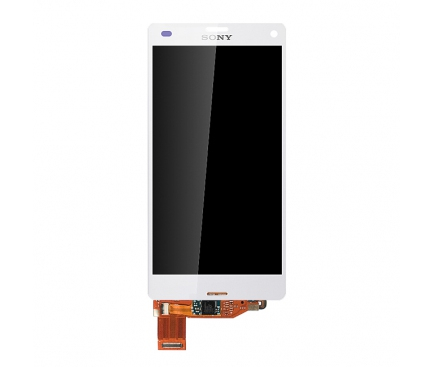 Display cu touchscreen Sony Xperia Z3 Compact alb 0